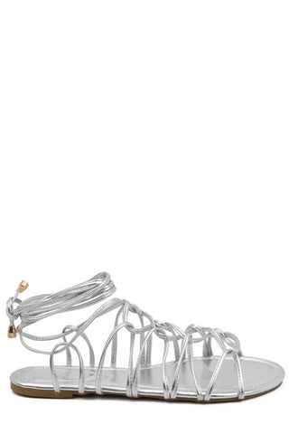 Luminous Night Sandals - Silver