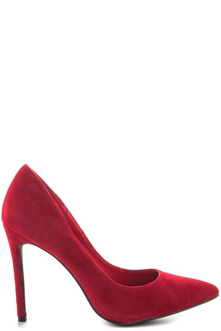 Opus Suede Pump - Red