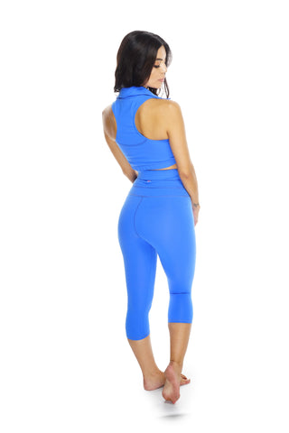 Whitney Workout Pants - Blue - WantMyLook