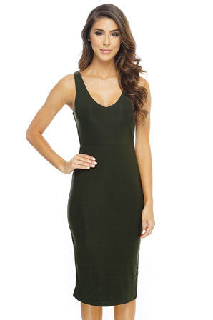 Briana Dress - Green - WantMyLook