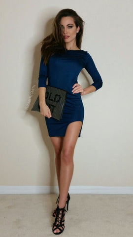 Madison Dress - Teal - WantMyLook