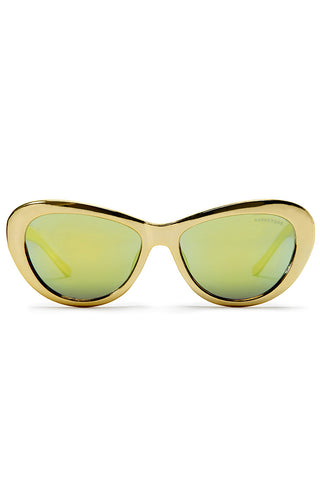Elton Sunglasses - Gold - WantMyLook