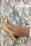 Lala Pumps - Gold