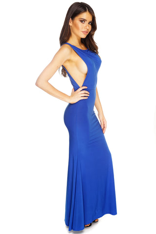 Jade Gown - Blue - WantMyLook