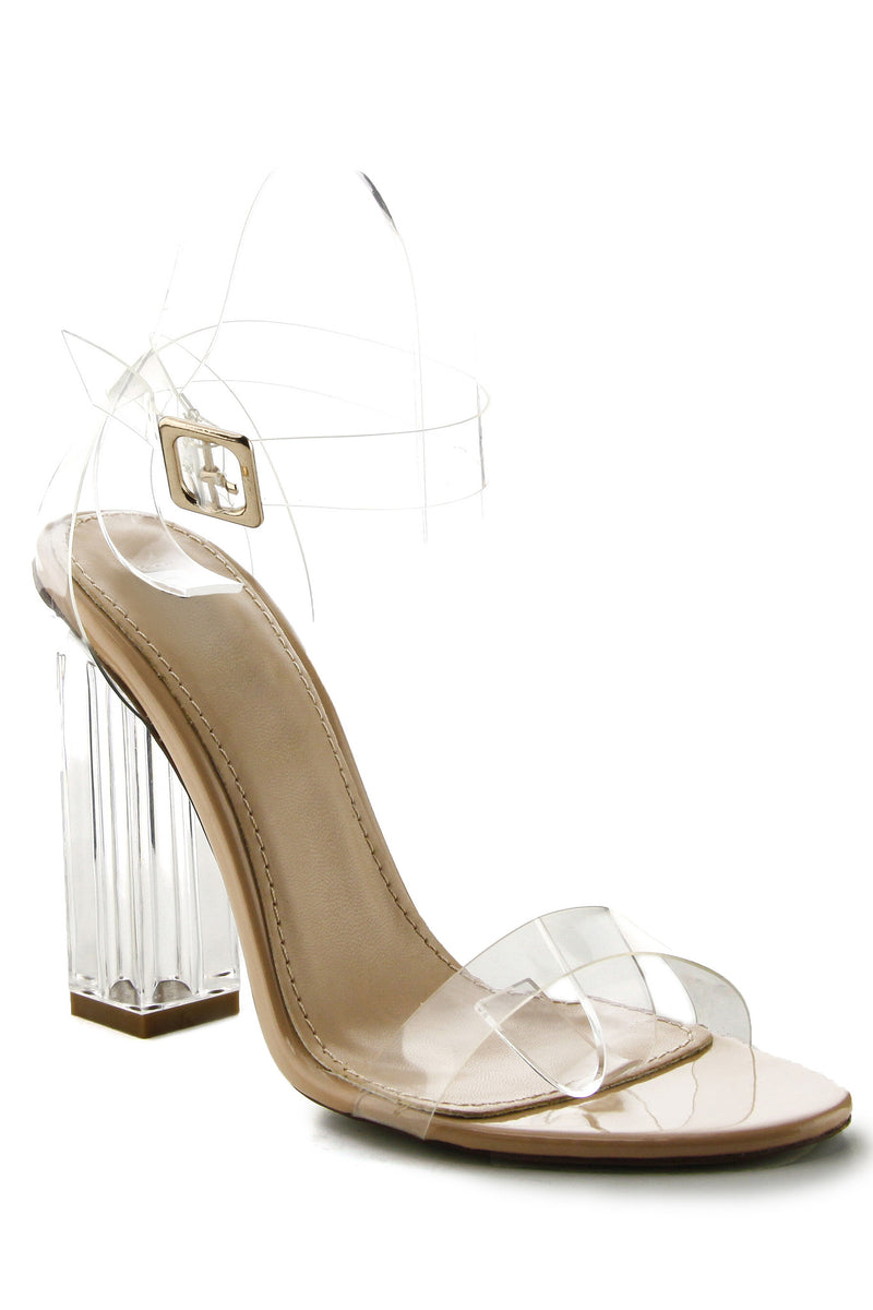 Maria Heels - Transparent - WantMyLook