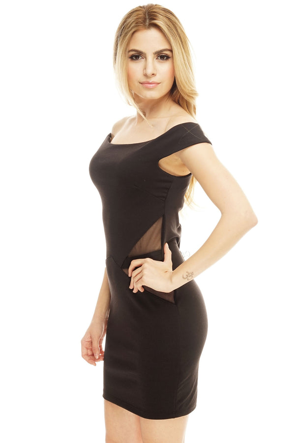 Nina Bodycon - Black - WantMyLook