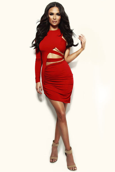 Sasha Dress - Red