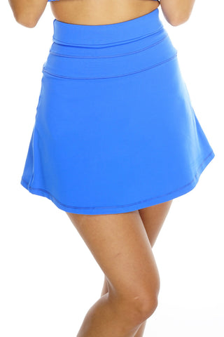 Theresa Tennis Skirt - Blue
