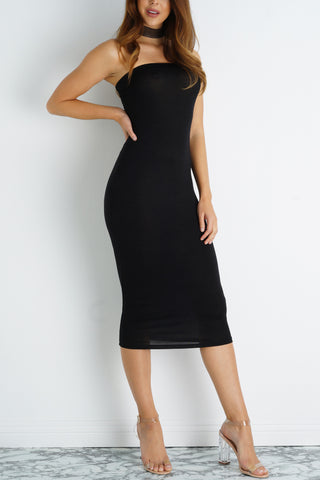Kendall Tube Dress - Black