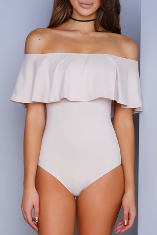 Kourtney Bodysuit - Nude