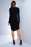 Abby Dress - Black - WantMyLook