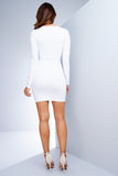 Marcella Mini Dress - Ivory