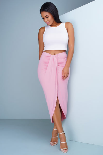 Tapestry Skirt - Pink