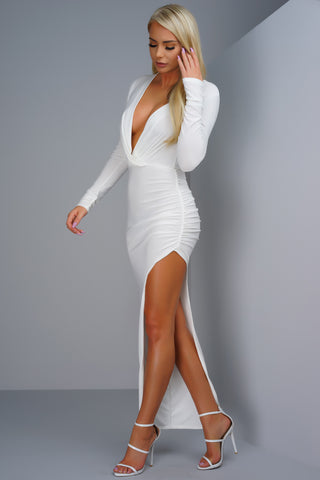 Birch Dress - White
