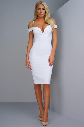 Francesca Dress - White