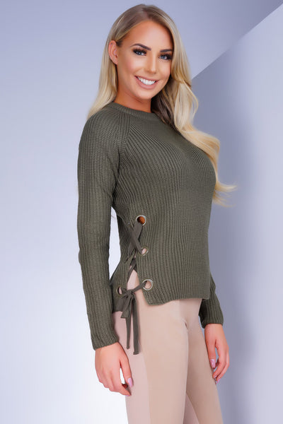 In My Feelings Sweater - Olive