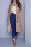 Olivia Trench Coat - Camel - WantMyLook