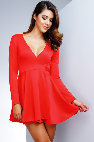 Shannon Dress - Red