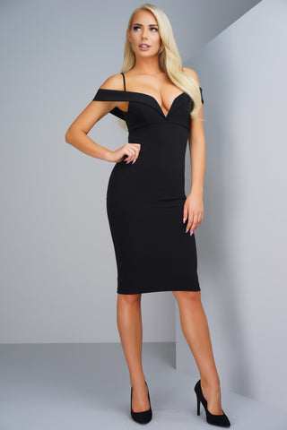 Francesca Dress - Black - WantMyLook