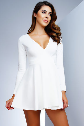 Shannon Dress - Ivory - WantMyLook