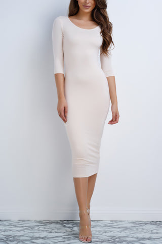 Barcelona Dress - Cream