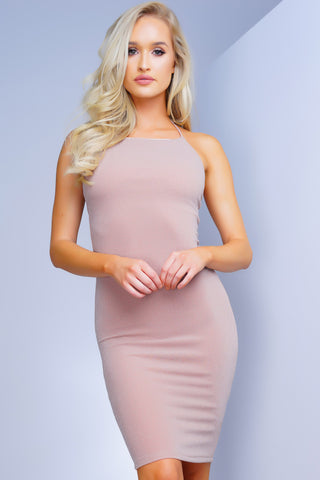 Sweet Sweet Metallic Dress - Pink