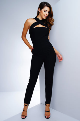 Leah Jumpsuit - Black