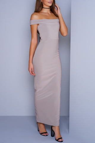 Sydney Maxi Dress - Taupe