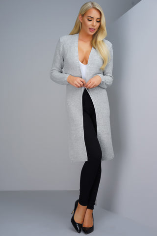 Second Nature Knit Cardigan - Grey