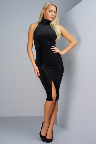Lullaby Corduroy Dress - Black