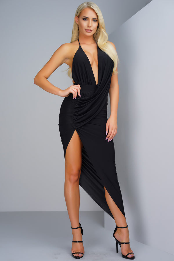Holly Dress - Black - WantMyLook