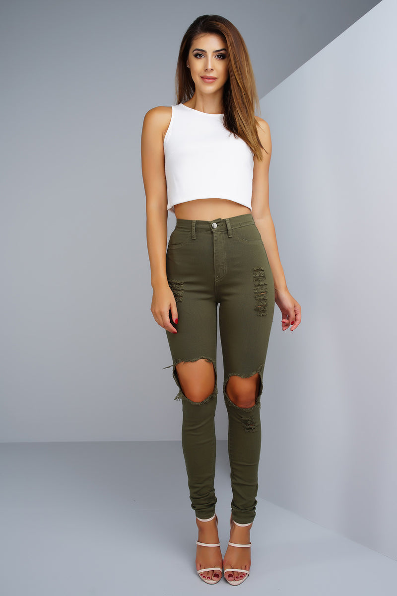 Superstar Jeans - Green - WantMyLook