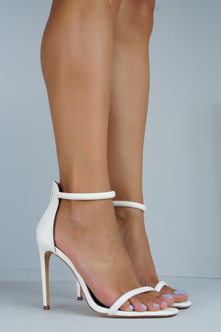 Angelica Heels - White