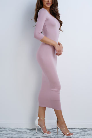 Barcelona Dress - Mauve