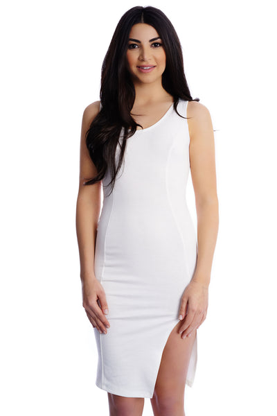 Avery Dress - White - WantMyLook