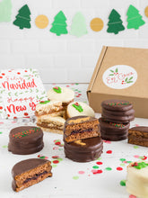 Load image into Gallery viewer, Christmas Alfajores Mega Gift Box (x12)