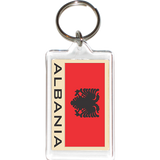 Albania Acrylic Key Holders