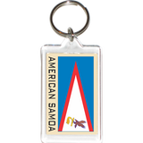 American Samoa Acrylic Key Holders