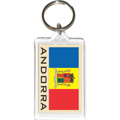 Andorra Acrylic Key Holders