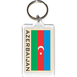 Azerbaijan Acrylic Key Holders