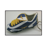 Azores Mini Soccer Shoe Key Chain