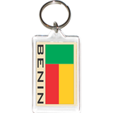 Benin Acrylic Key Holders
