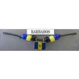 Barbados Fan Choker Necklace
