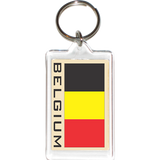 Belgium Acrylic Key Holders