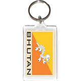 Bhutan Acrylic Key Holders