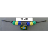 Brasil Fan Choker Necklace