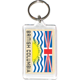 British Columbia Acrylic Key Holders