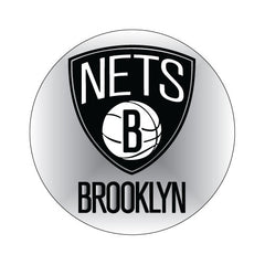 Brooklyn Nets NBA Round Decal