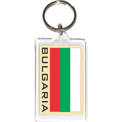 Bulgaria Acrylic Key Holders