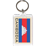 Cambodia Acrylic Key Holders